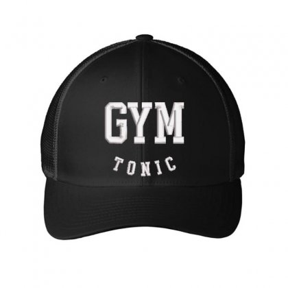 Gym Tonic Embroidered Mesh Cap Designed By Madhatter