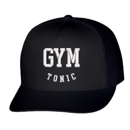 Gym Tonic Trucker Cap Designed By Madhatter