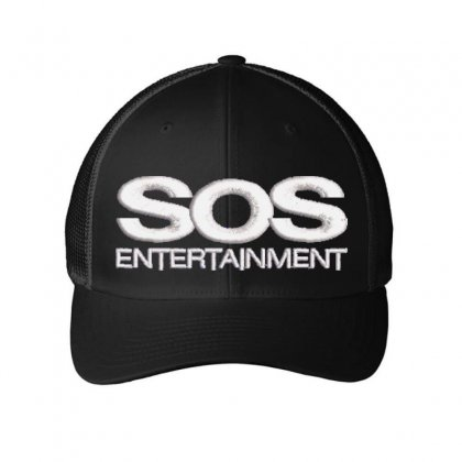 Sos Entertainment Embroidered Mesh Cap Designed By Madhatter