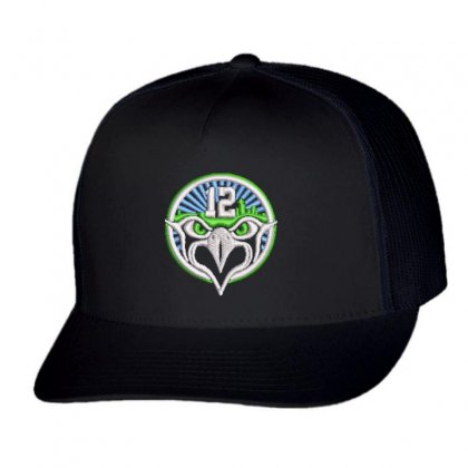 12 Eagle Trucker Cap Designed By Madhatter