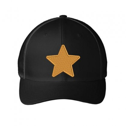 Star Embroidered Mesh Cap Designed By Madhatter