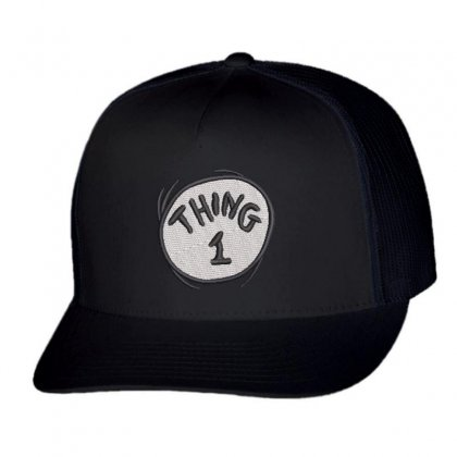 Thing 1 Trucker Cap Designed By Madhatter