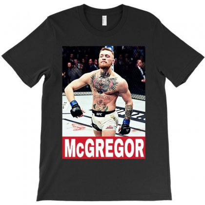 Conor Mcgregor Action T-shirt Designed By Papa Boutique