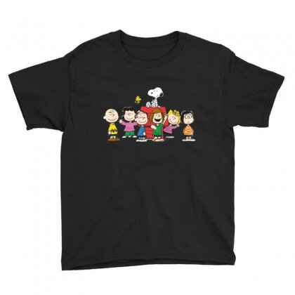 Snoopy Family Youth Tee Designed By Roxanne