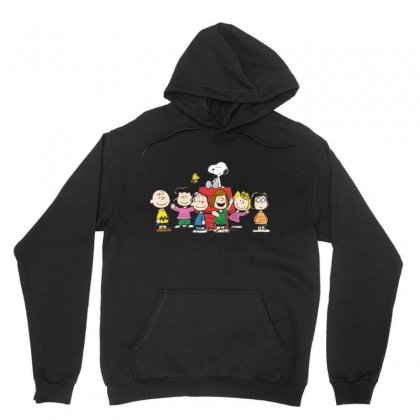 Snoopy Family Unisex Hoodie Designed By Roxanne