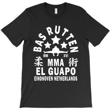 Bas Rutten   White T-shirt Designed By Papa Boutique