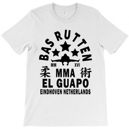 Bas Rutten   Black T-shirt Designed By Papa Boutique