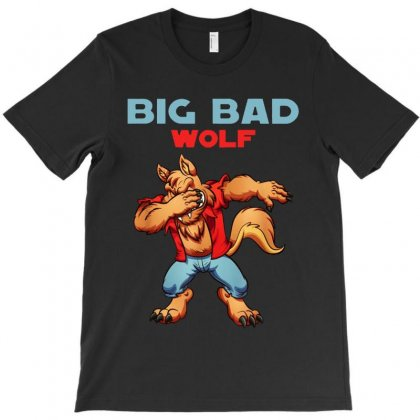 Bad Wolf  Dabbing T-shirt Designed By Papa Boutique