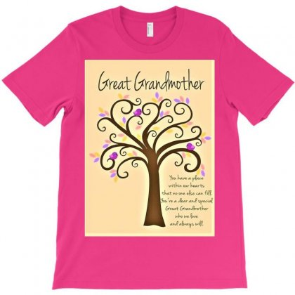 Great Grandmother T-shirt Designed By Trendy Boy