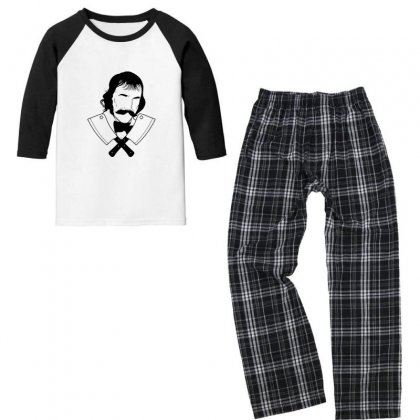 Bill The Butcher 1 Youth 3/4 Sleeve Pajama Set Designed By Sr88