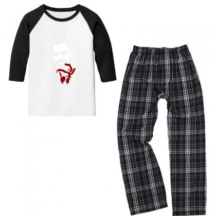 Calvin Candie Youth 3/4 Sleeve Pajama Set Designed By Sr88