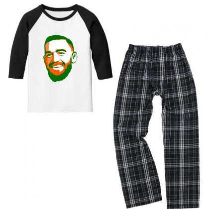 Connor Youth 3/4 Sleeve Pajama Set Designed By Sr88