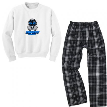 Infect Gaming Youth Sweatshirt Pajama Set Designed By As99