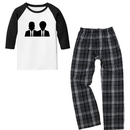 Vincent And Jules Youth 3/4 Sleeve Pajama Set Designed By Sr88