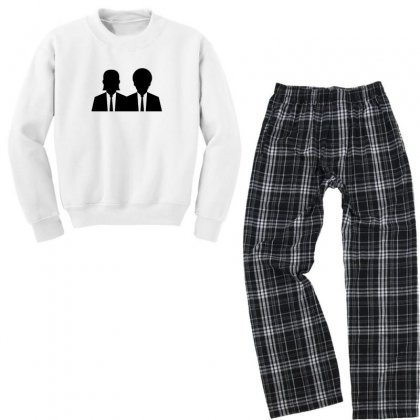 Vincent And Jules Youth Sweatshirt Pajama Set Designed By Sr88