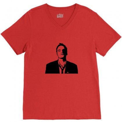 Tarantino V-neck Tee Designed By Sr88