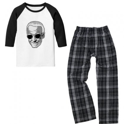 Stan The Man Youth 3/4 Sleeve Pajama Set Designed By Sr88