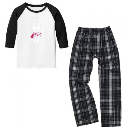 We See You Youth 3/4 Sleeve Pajama Set Designed By As99