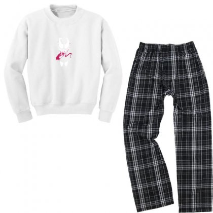 We See You Youth Sweatshirt Pajama Set Designed By As99