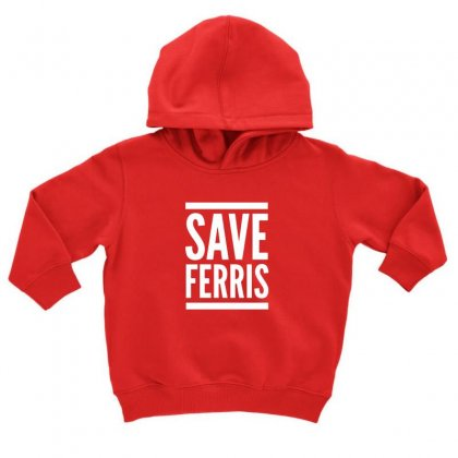 Ferris Bueller Toddler Hoodie Designed By Oktaviany
