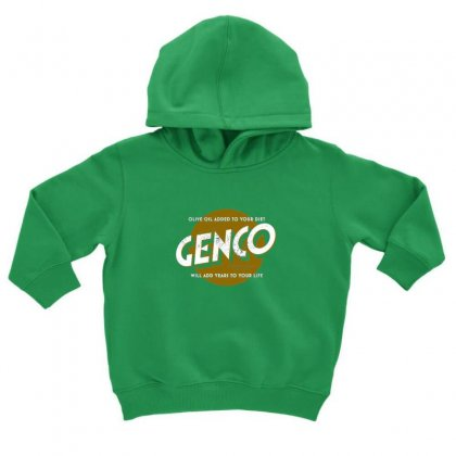 Genco Olive Oil Co Toddler Hoodie Designed By Oktaviany