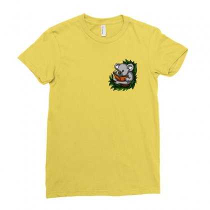 Help Koalas Conservation Ladies Fitted T-shirt Designed By Oktaviany