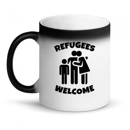 Hias My People Were Refugees Too Magic Mug Designed By Oktaviany