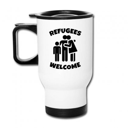Hias My People Were Refugees Too Travel Mug Designed By Oktaviany