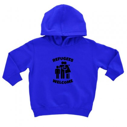 Hias My People Were Refugees Too Toddler Hoodie Designed By Oktaviany
