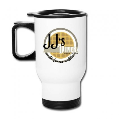 Jj's Diner Menu Travel Mug Designed By Oktaviany