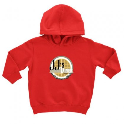 Jj's Diner Menu Toddler Hoodie Designed By Oktaviany