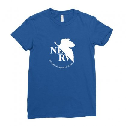 Nerv Logo Ladies Fitted T-shirt Designed By Oktaviany