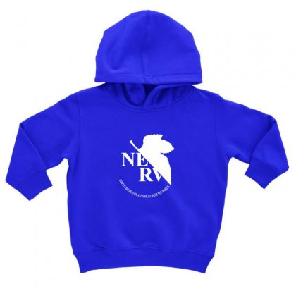Nerv Logo Toddler Hoodie Designed By Oktaviany