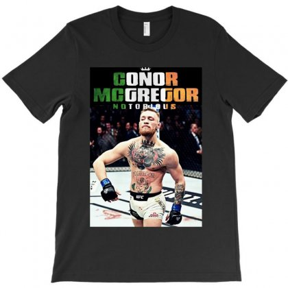 Mcgregor The King T-shirt Designed By Papa Boutique