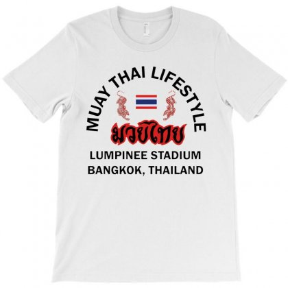 Muay Thai Lifestyle Logo T-shirt Designed By Papa Boutique