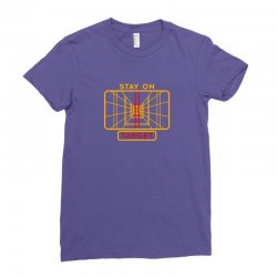 stay on target 1977 targeting computer Ladies Fitted T-Shirt | Artistshot