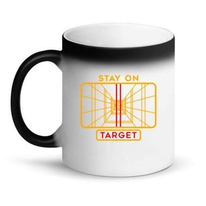 Stay On Target 1977 Targeting Computer Magic Mug Designed By Oktaviany