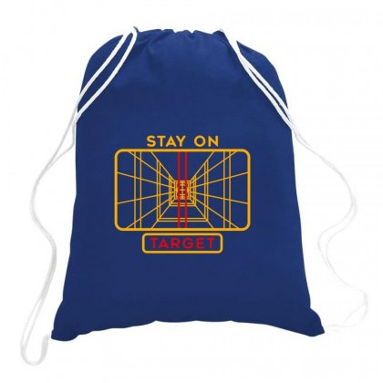 Stay On Target 1977 Targeting Computer Drawstring Bags Designed By Oktaviany