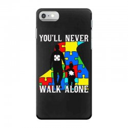 never walk alone   father and son iPhone 7 Case | Artistshot