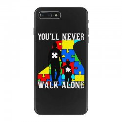 never walk alone   father and son iPhone 7 Plus Case | Artistshot