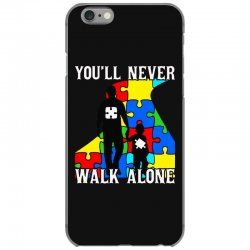 never walk alone   father and son iPhone 6/6s Case | Artistshot