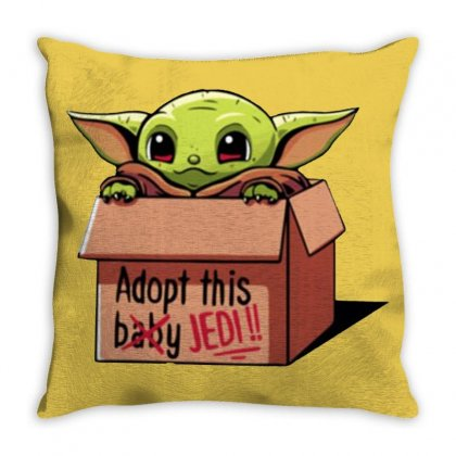 The Baby Force Throw Pillow Designed By Oktaviany