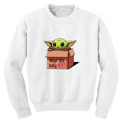 The Baby Force Youth Sweatshirt Designed By Oktaviany