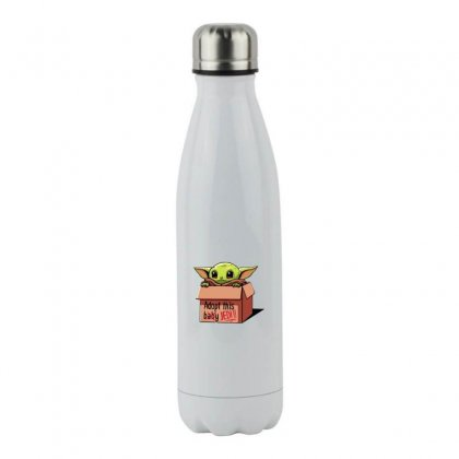 The Baby Force Stainless Steel Water Bottle Designed By Oktaviany