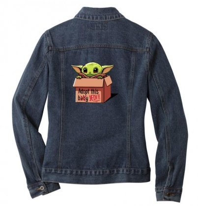The Baby Force Ladies Denim Jacket Designed By Oktaviany