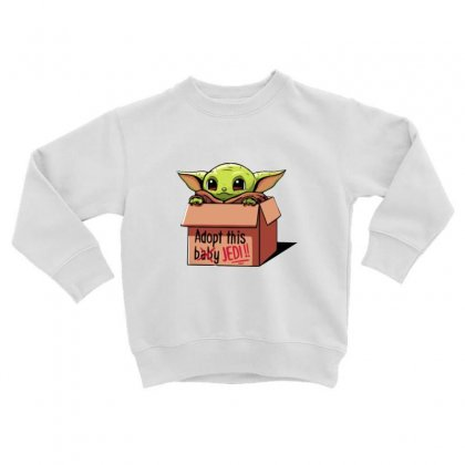 The Baby Force Toddler Sweatshirt Designed By Oktaviany