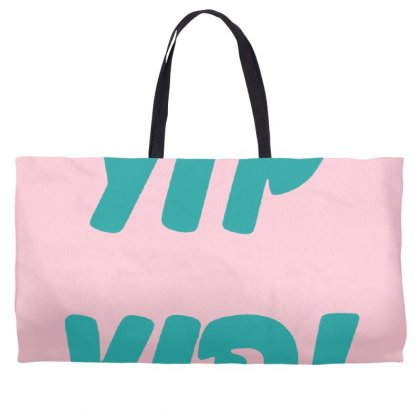 Yip Yip Weekender Totes Designed By Oktaviany