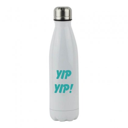 Yip Yip Stainless Steel Water Bottle Designed By Oktaviany