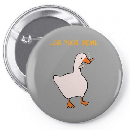 Goose Honk Merch Pin-back Button Designed By Oktaviany
