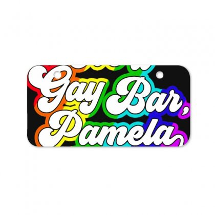 It's A Gay Bar Pamela Lgbt Bicycle License Plate Designed By Oktaviany